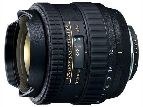 Объектив Tokina AT-X 107 DX Fisheye 10-17mm f/3.5-4.5 Black для Nikon