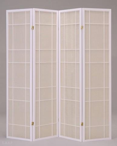 Ширма SN 0027 деревянная белый