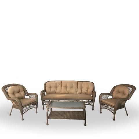 Комплект плетеной мебели LV216 Beige/Beige