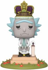 Funko POP! Deluxe: Rick & Morty: King of $#!+ w/Sound || Рик Санчез