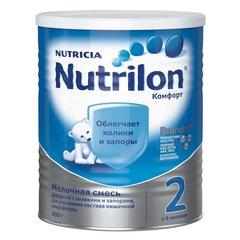 Смесь Nutrilon КОМФОРТ 2,   400 г с 6 месяцев CAN (METAL)