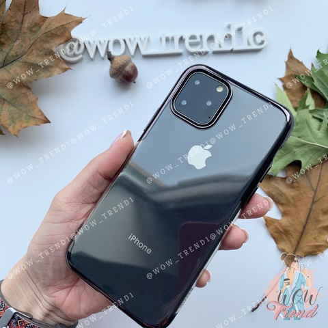 Чехол iPhone 11 Pro Baseus Shining Case /black/