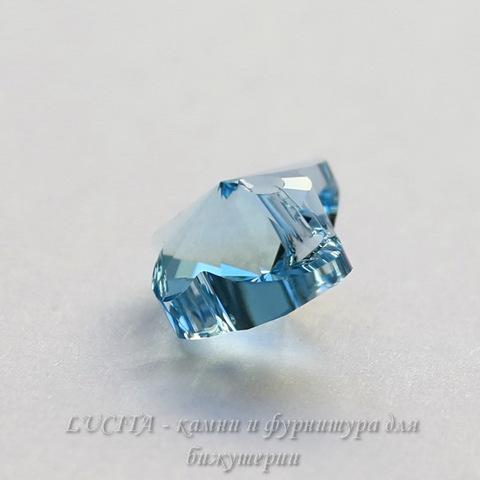 6754 Подвеска Сваровски Бабочка Aquamarine (18 мм) ()