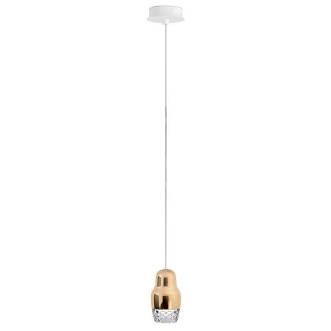 Подвесной светильник копия FEDORA 1 by AXO LIGHT  (бронзовый)