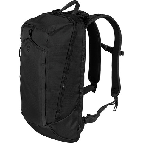 Рюкзак VICTORINOX Altmont Compact Laptop Backpack 13'', чёрный, полиэфирная ткань, 28x15x46 см, 14 л