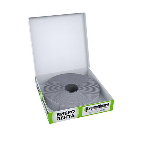 SoundGuard Band Rubber 50 12000х50х4 мм Демпферная виброгасящая лента