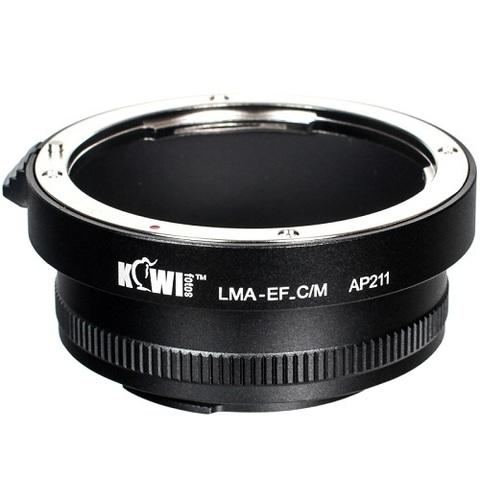 Переходное кольцо JJC Lens Mount Adapter Kiwifotos LMA-EF_C/M