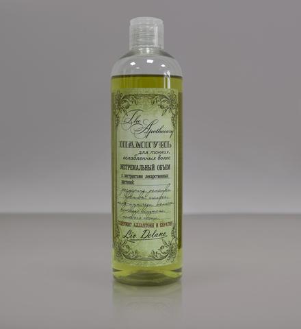 Liv delano The Apothecary Шампунь для тонких, ослабленных волос Экстремальный объем 400мл