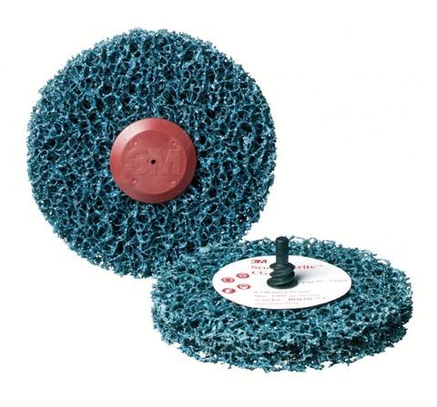 3М Зачистной круг синий   57018