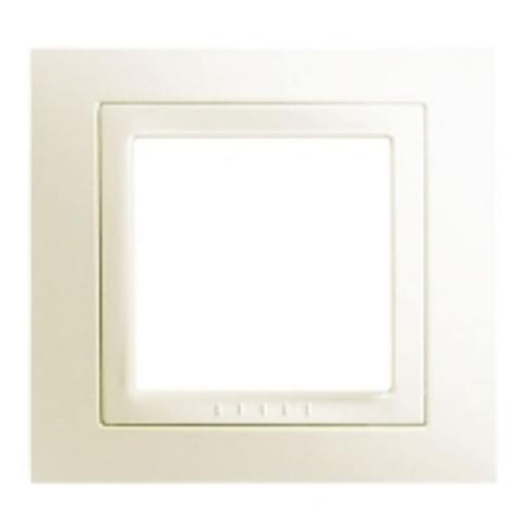 Рамка на 1 пост. Цвет Бежевый. Schneider electric Unica. MGU2.002.25
