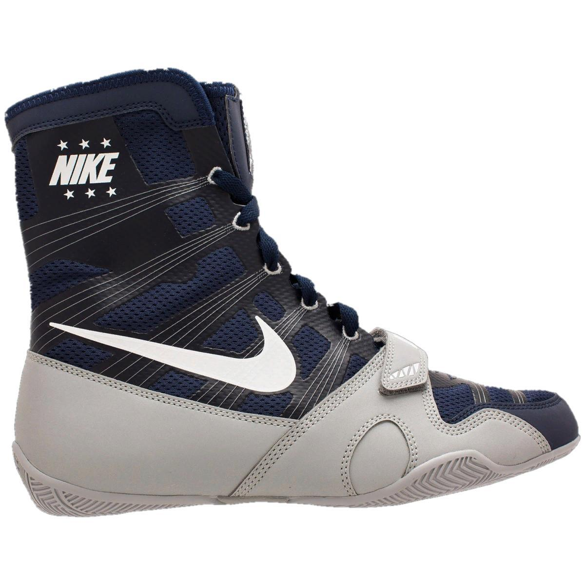 Боксерки Nike HyperKO Midnight Navy/white/metallic silver