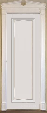 Межкомнатная дверь Violetta 21.1 под стекло