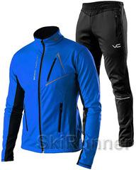 Утеплённый лыжный костюм 905 Victory Code Dynamic 2019  blue мужской