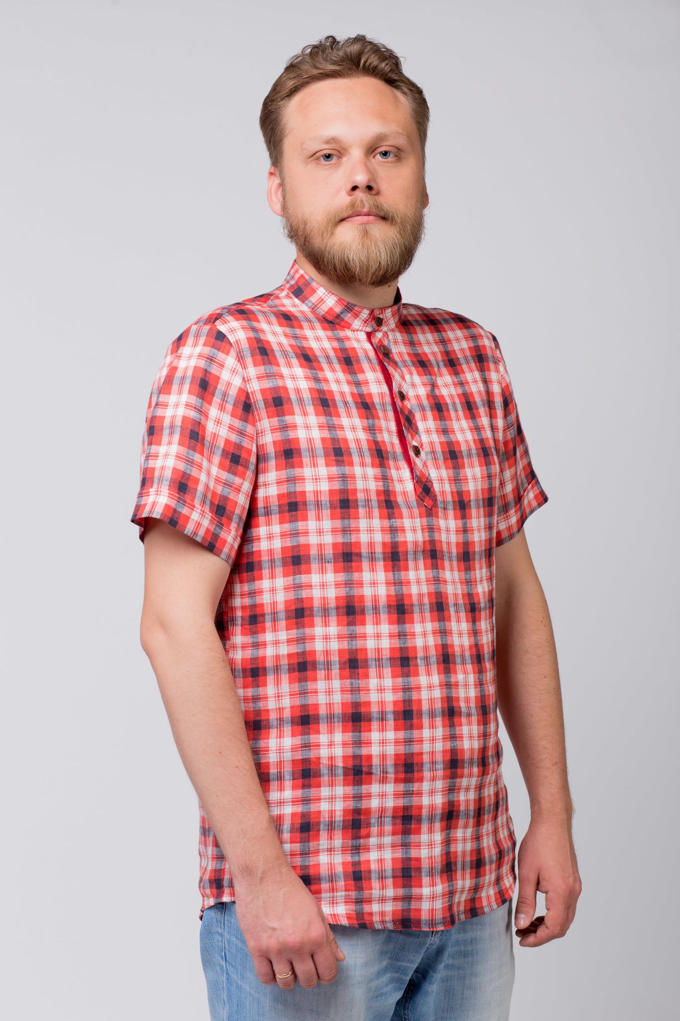 Рубашка льняная Амурская купить