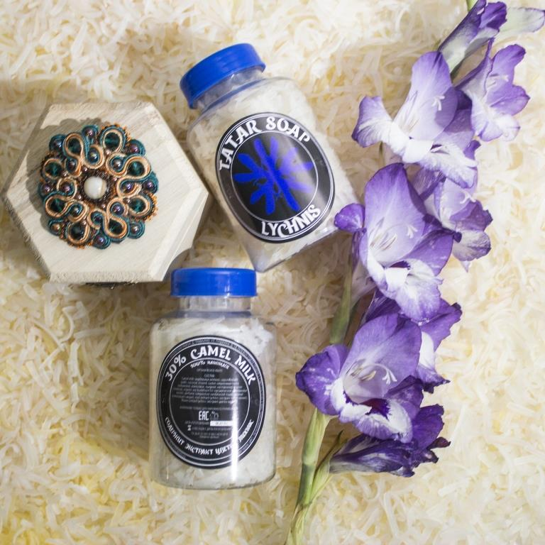 Татарское мыло ручной работы «Lychnis «Heavenly flower»