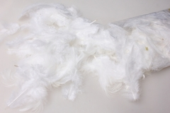 Перья белые в пакете 10 гр.