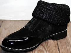 Женские туфли оксфорды Kluchini 5161 k255 Black