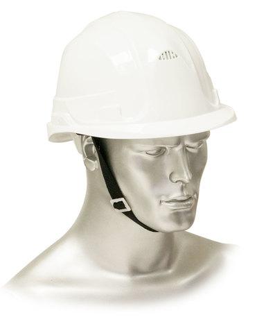 Каска защитная рабочая белая