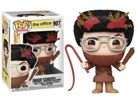 Dwight Schrute as Belsnickel Office Funko Pop! Vinyl Figure || Дуайт Шрут в Костюме Белсникеля. Офис