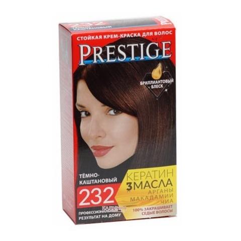 Краска для волос Prestige 232 - Темно-каштановый