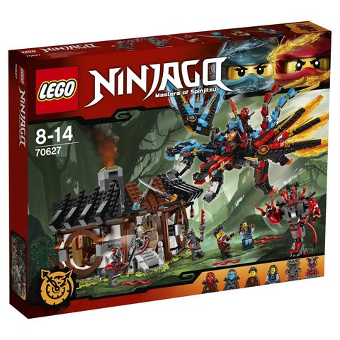 LEGO Ninjago: Кузница Дракона 70627 — Dragon's Forge — Лего Ниндзяго