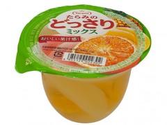 Желе фруктовое Tarami с кусочками фруктов Апельсин, Персик, и Ананас 230 гр.