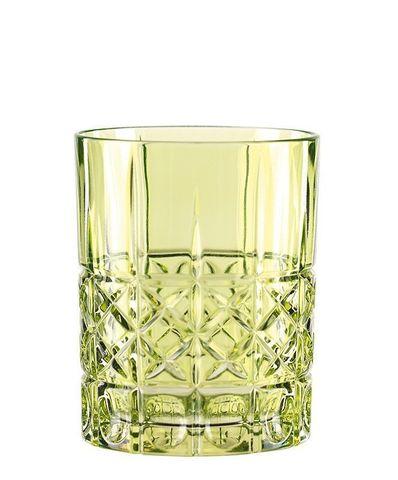 Зеленый хрустальный стакан для виски Highland, 345 мл