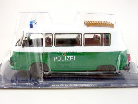 Barkas West Germany Police 1:43 DeAgostini World's Police Car #63