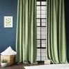 Комплект штор с подхватами Джулия зеленый