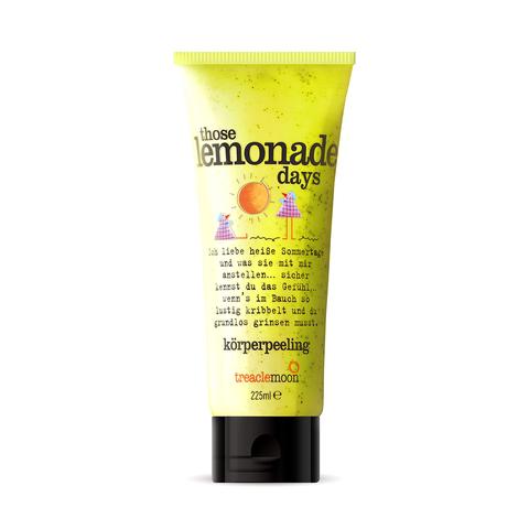 TREACLEMOON   Скраб для тела Домашний лимонад / Those lemonade days Body scrub, (225 мл)