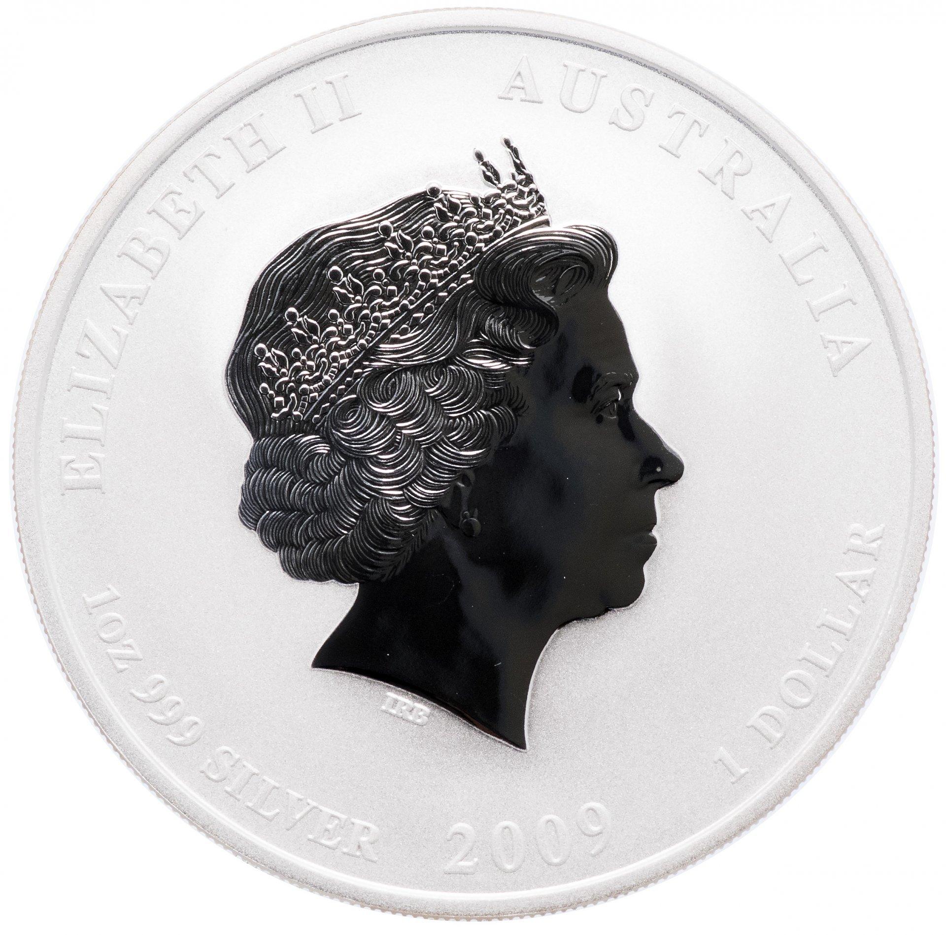1 доллар. Год Быка. Австралия. 2009 год