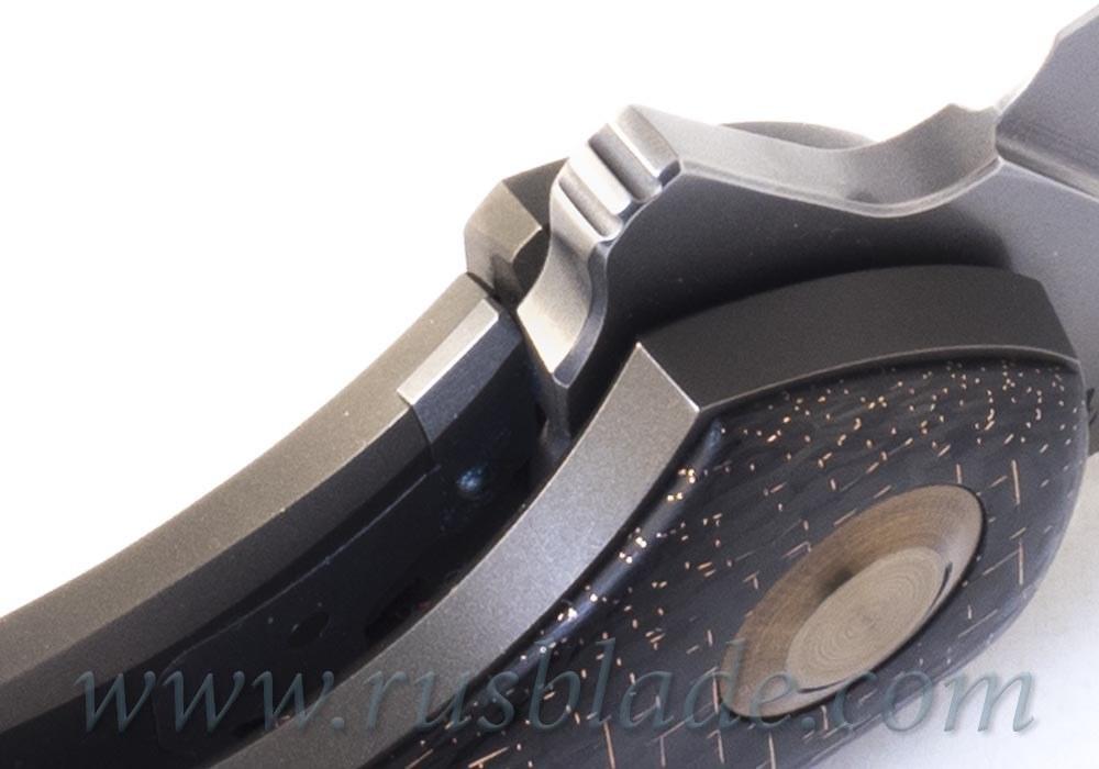 Cheburkov Raven S90V Titanium CF Folding Knife