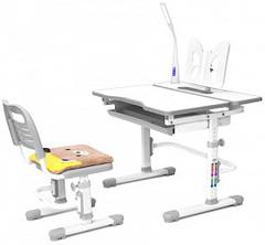Rifforma Комплект парта и стул с чехлом COMFORT-07 и Светильник COMFORT 01 (RFDC-0307/RFL-0301)