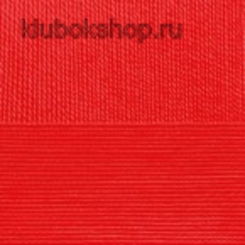 Пряжа Ажурная (Пехорка) 88 Красный мак