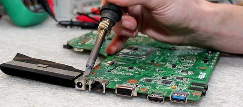 Замена разъема зарядки на ноутбуке