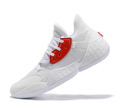 adidas Harden Vol. 4 'White/Orange'