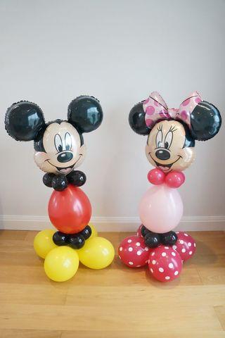 Микки и Минни из шаров