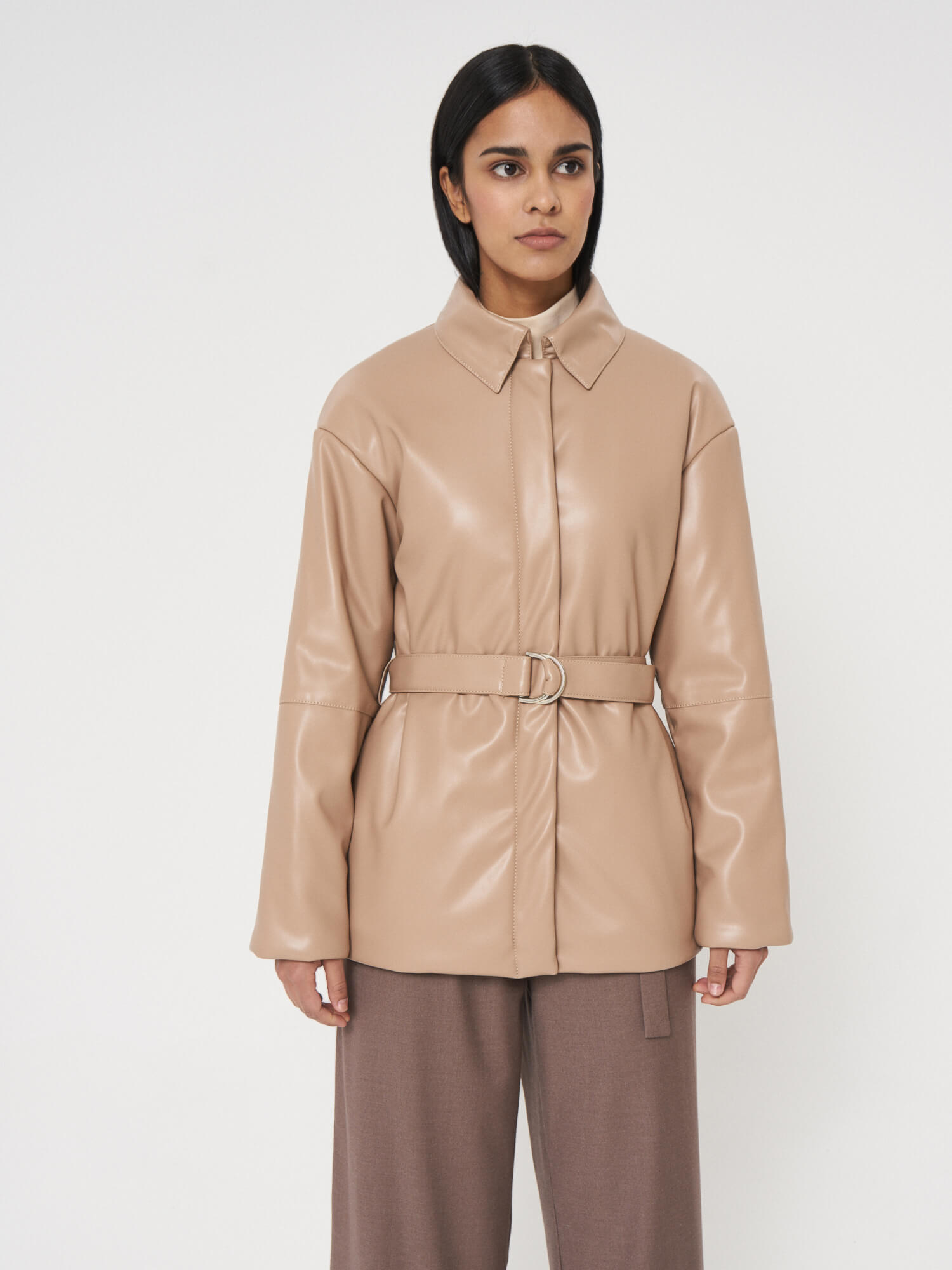 Куртка из экокожи Антверпен