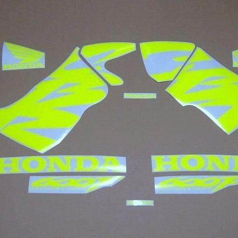 Набор виниловых наклеек на мотоцикл HONDA CBR 600 F 1999-2000, флуоресцентный цвет