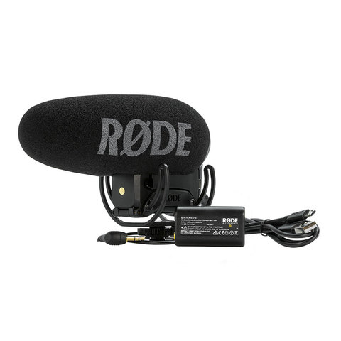 RODE VideoMic Pro Plus Накамерный микрофон для фото и видео камер