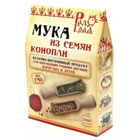 Мука конопляная, 200 гр. (Радоград)
