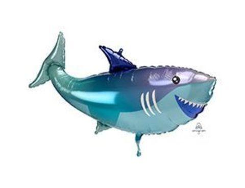 Фольгированный шар Веселая Акула
