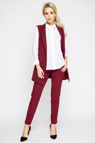 """<p><span>Классический жилет с ультра модными клапанами - атрибут сдержанного офисного стиля. Модель отлично сочетается с простыми футболками, майками, джинсами. Свежий взгляд на классику !!! Отлично сочетается по цветовой гамме с брюками """"Саббиани"""" из новой коллекции. (Длина 77 см)</span></p>"""