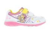Кроссовки Мой Маленький Пони (My Little Pony) на липучках для девочек, цвет белый. Изображение 1 из 5.