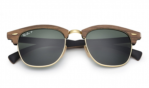 Clubmaster RB 3016M 1181/58 Wood