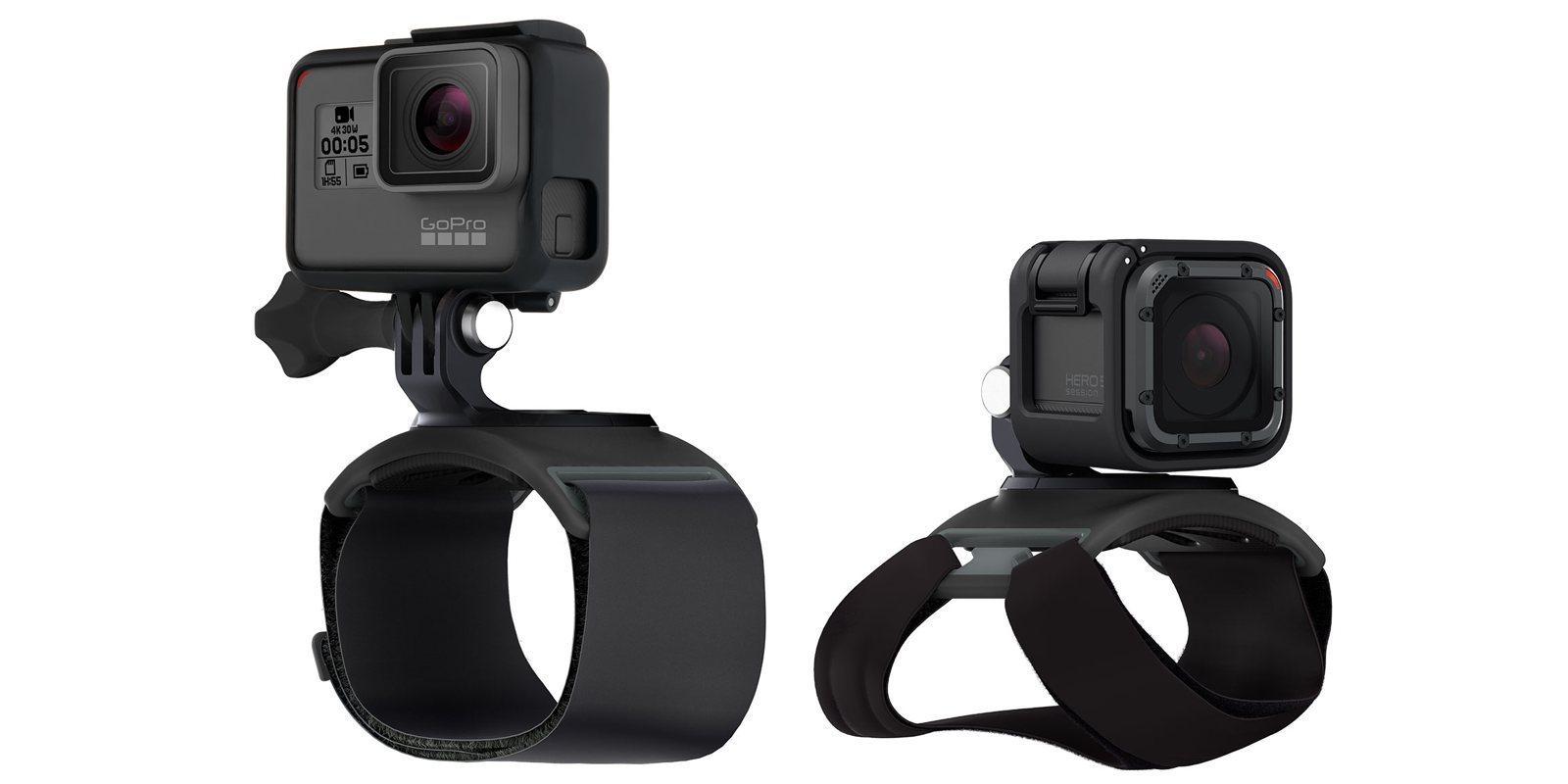 Крепление на руку GoPro Hand + Wrist Strap (AHWBM-002) варианты