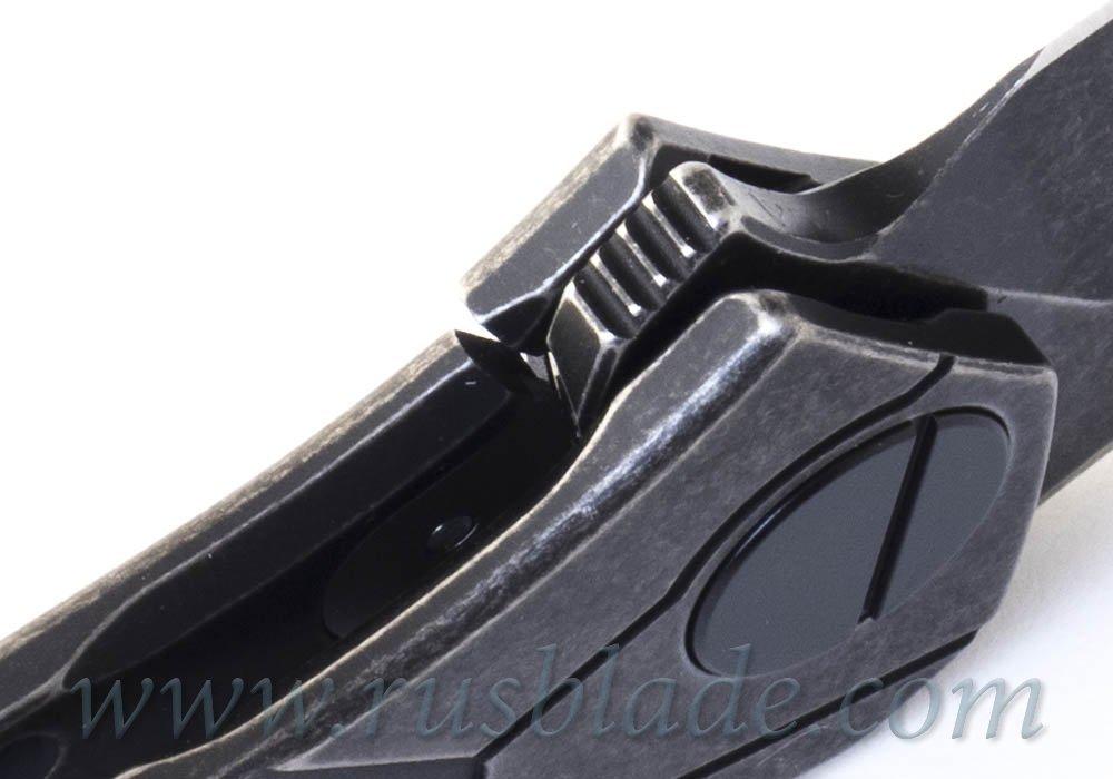 CKF Ratata BLK knife #30 (Konygin, M390, Ti, bearings)