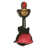 Значок Hard Rock Cafe - Atlanta 2015 - Fire Chiefs - Guitar