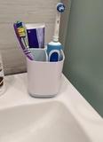 Стакан для ванной, подставка для зубных щёток и пасты EasyStore™ органайзер белый Joseph Joseph 70500   Купить в Москве, СПб и с доставкой по всей России   Интернет магазин www.Kitchen-Devices.ru