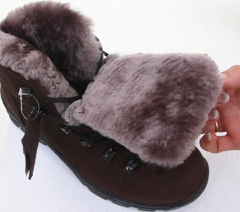 Ботинки зимние «Трекинг-VIP» (натуральный мех)